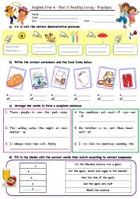 17 best images of healthy lifestyles worksheets for healthy living pop quiz esl worksheet by kaudanaku80 17 b