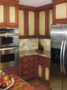 How To Finish Kitchen Cabinets by Home Dzine Kitchen Paint Kitchen Cabinets In Two Tone