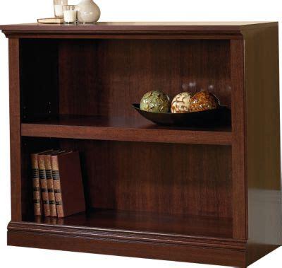 sauder 2 shelf bookcase cherry sauder select 2 shelf cherry bookcase homemakers furniture