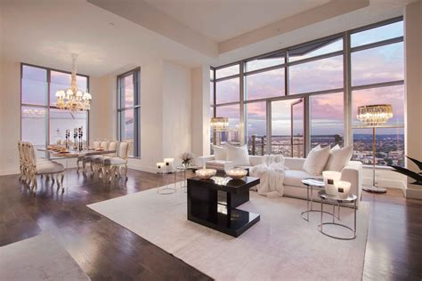 luxury penthouse   carlyle residences  premier