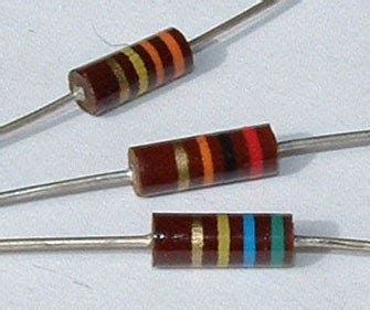 komposisi resistor carbon composition some type of resistors digital circuit