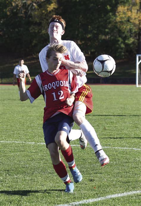 section 6 girls soccer section 6 boys soccer tested iroquois upsets olean