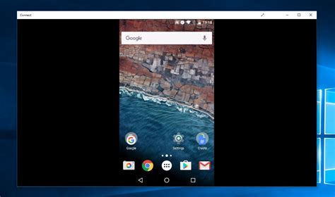show android screen on pc how to cast your android screen to a windows 10 pc mspoweruser