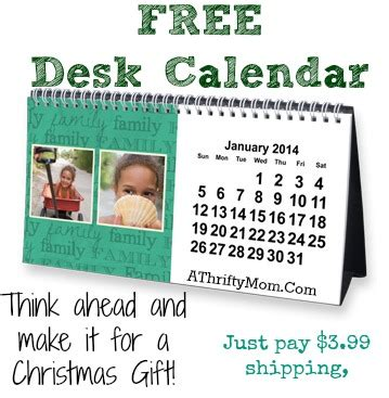 how to make a personalized calendar for free free personalized desk calendar great gift idea a