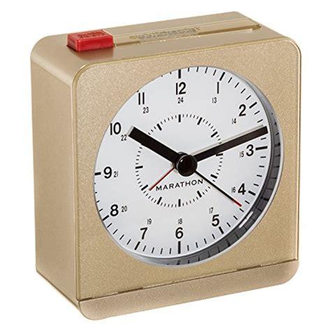 marathon analog desk alarm clock marathon cl030053gd analog desk alarm clock with auto