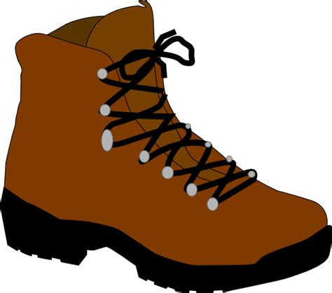 Boots Clipart hiking boot clip at clker vector clip royalty free domain