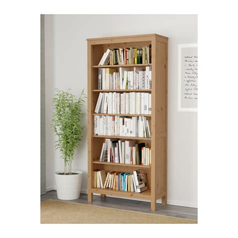 hemnes bookcase light brown 90x197 cm ikea