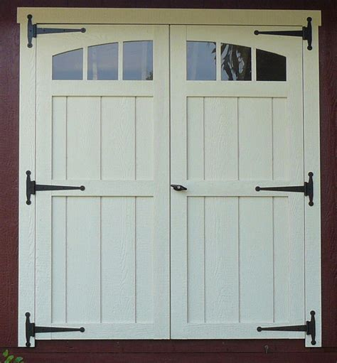 Exterior Doors For A Shed by Shed Door Landscaping Ideas