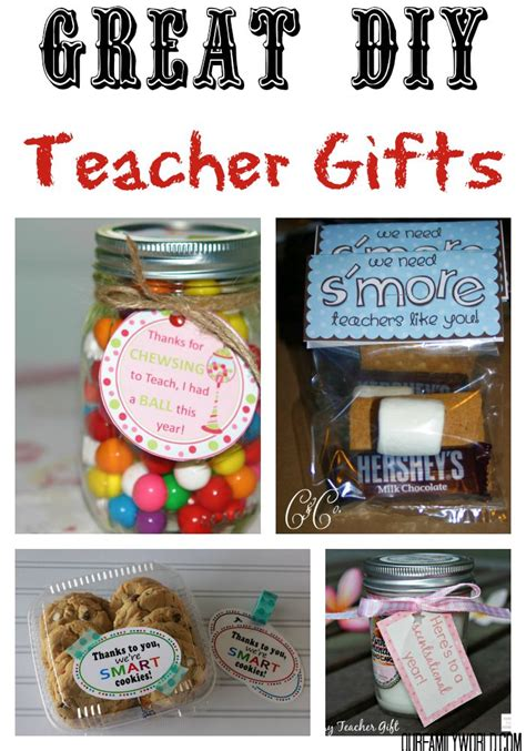 7 Great Gifts For Teachers by 7 Great Diy Gifts Ideas Our Family World