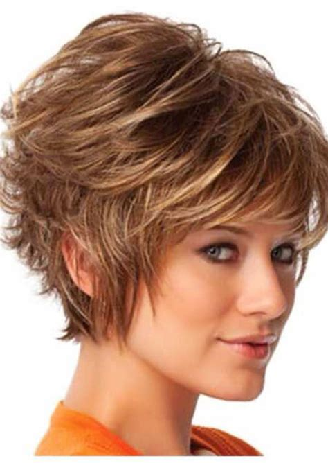 easy care hairstyles for thick hair woman 28 cute short haircuts for thick hair short hairstyles