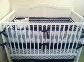 crib bedding navy and gray elephant deposit by