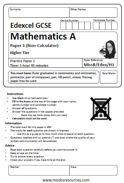 Intermediate 1 Maths Past Paper Questions by Entry Level Functional Skills Maths Worksheets