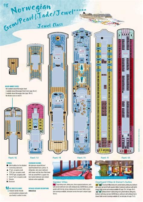 norwegian jewel floor plan norwegian jewel floor plan norwegian jewel deck plan