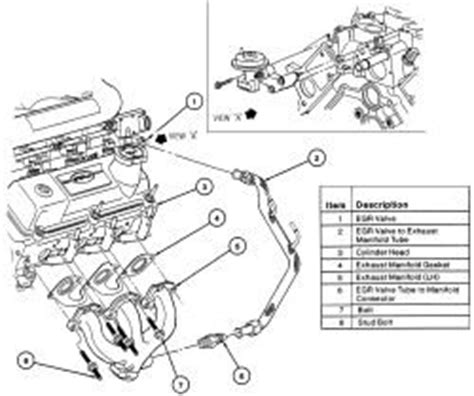 security system 1986 ford ltd electronic valve timing picture of egr valve and were it is located solved fixya