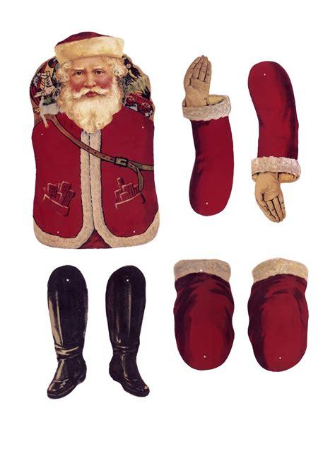 free printable santa paper dolls hazelruthes s santa s to print create