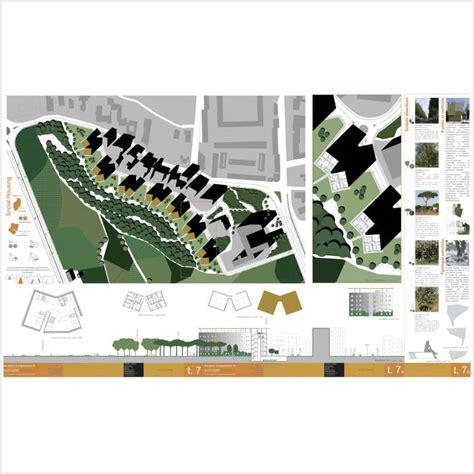 tavole architettura impaginazione tavola di architettura paesaggio