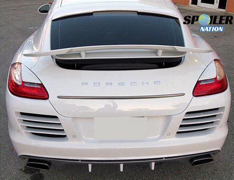 porsche spoiler 2014 2016 porsche panamera speed style rear wing spoiler