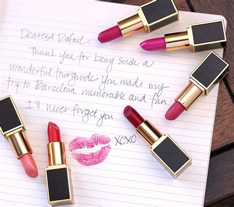 tom ford limited edition lips boys lip color collection introducing the tom ford lips boys limited edition