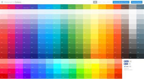 the colors material ui colors