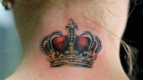 tattoo king neck queen tattoo are only for a queen like you