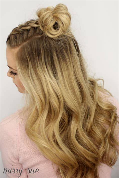 french crown braid 3 new ways to add bobby pins to your mohawk braid top knot