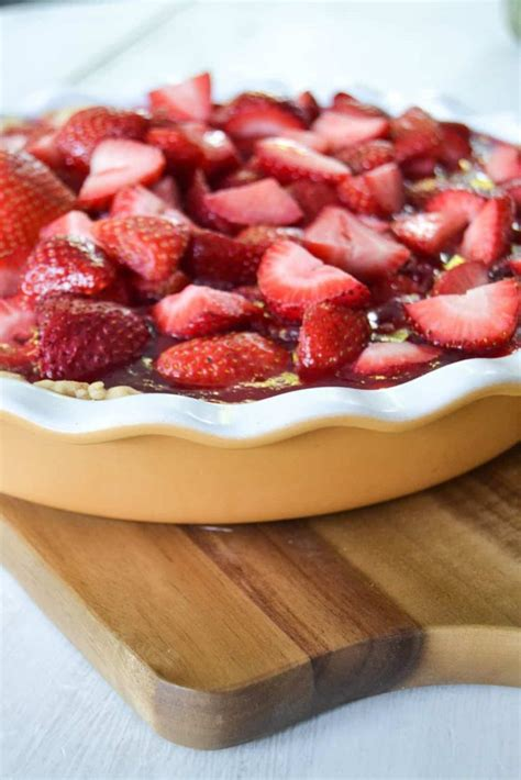 My Strawberry best and easiest strawberry pie recipe my creative days