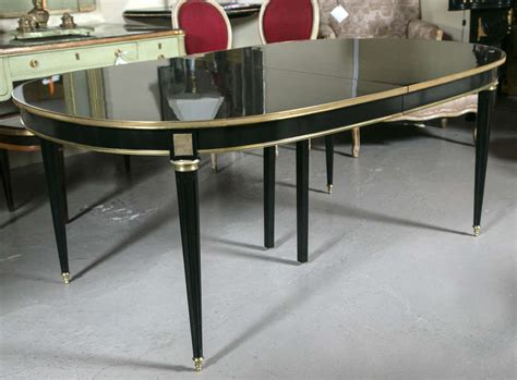 Dining Table Finishes Louis Xvi Piano Finish Dining Table By Maison Jansen At 1stdibs