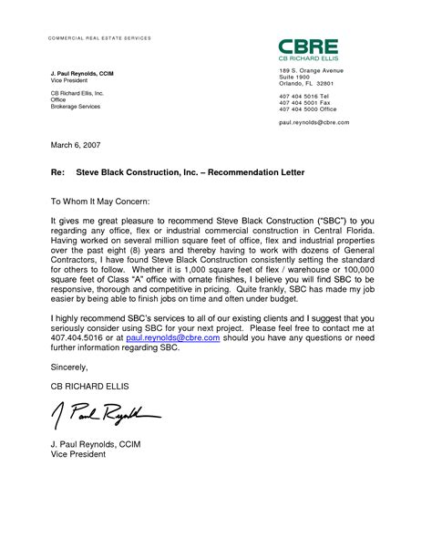 Recommendation Letter For Work Format Best Photos Of Sle Reference Letter Of Recommendation