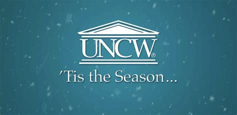 Unc Wilmington Mba Ranking by Tis The Season Office Of The Chancellor Uncw