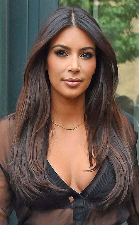 kim kardashian hair color brown kim kardashian from fall 2014 hair color inspiration kim
