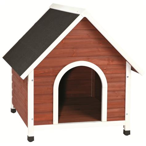 hunting dog houses trixie natura nantucket dog house 580959 kennels beds at sportsman s guide