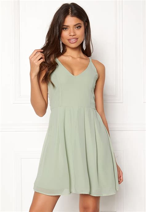 Liana Dress Green bubbleroom liana dress light green bubbleroom