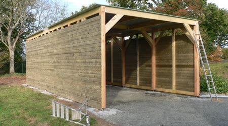 cout d un garage en bois 4190 prix d une construction de garage co 251 t de construction