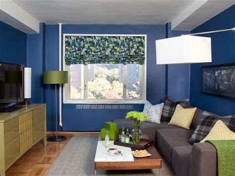 orginal blue decorating ideas for small living rooms