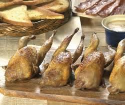 cailles sur canape recettes plats de volailles cailles sur canap 233