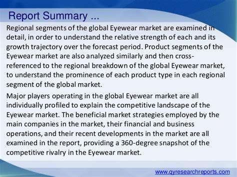 global eyewear market 2015 industry trends research