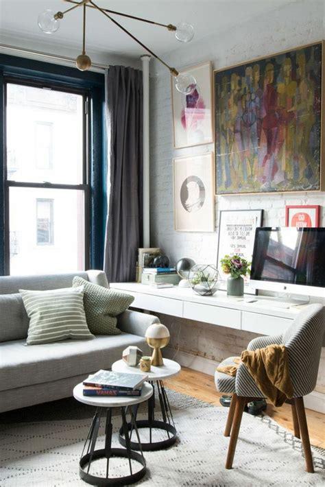 mesas para salones 1001 ideas sobre decoraci 243 n de salones para espacios peque 241 os