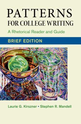 pattern for college writing 13th edition patterns for college writing brief edition a rhetorical