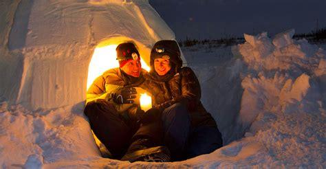 alaska northern lights igloo northern lights tour churchill arctic adventures