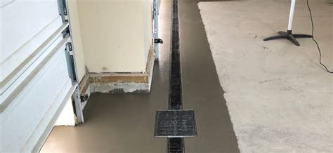 garage drainage solutions