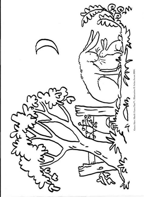 Kids N Fun Com 7 Coloring Pages Of Guess How Much I Love You Guess How Much I You Coloring Pages