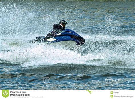 jet ski water rocket jet ski water sport stock images image 8790374