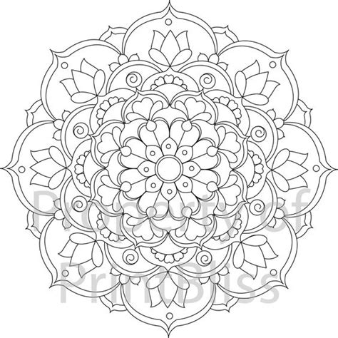 flower mandala coloring pages printable coloring mandalas and flower on