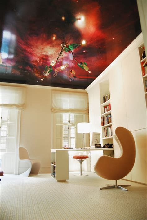Galaxy Wallpaper For Ceiling by Bedroom With Galaxy Wallpaper On Ceiling
