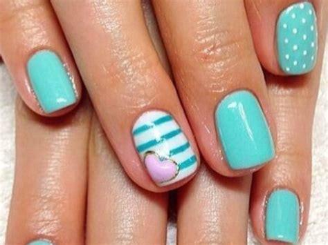 imagenes de uñas pintadas a pinceladas fotos de u 241 as acr 237 licas 2018 blogmujeres com