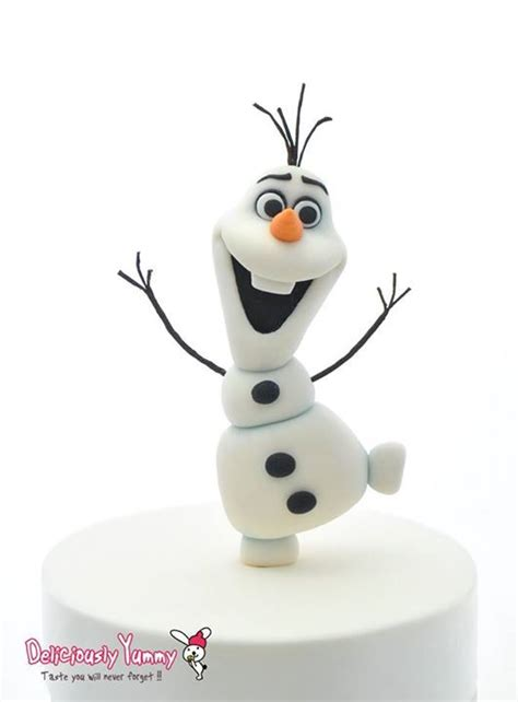tutorial menggambar olaf frozen 25 best ideas about fondant olaf on pinterest olaf cake