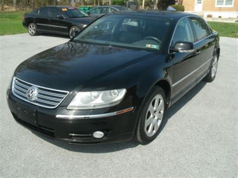 online auto repair manual 2004 volkswagen phaeton navigation system buy used 2004 volkswagen phaeton awd nav heated cooled seats clean carfax like new vw in