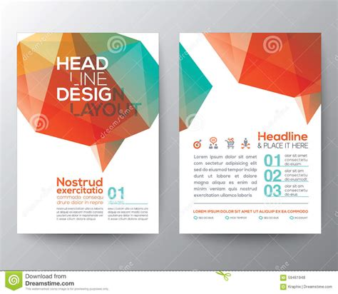 elements of graphic design layout abstract brain shape low polygon graphic design layout