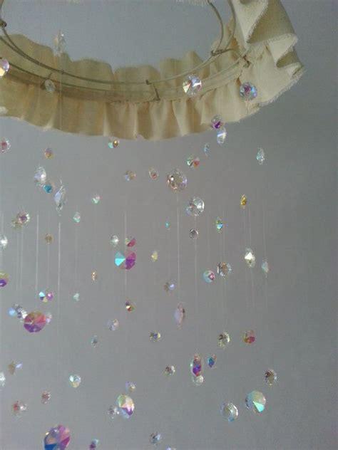 chandelier baby mobile chandelier nursery baby mobile shabby chic nursery