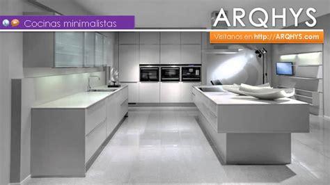 fotos de cocinas minimalistas dise 241 os de cocinas integrales minimalistas casa dise 241 o